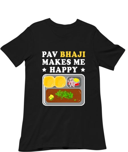 Pav Bhaji Makes Me Happy