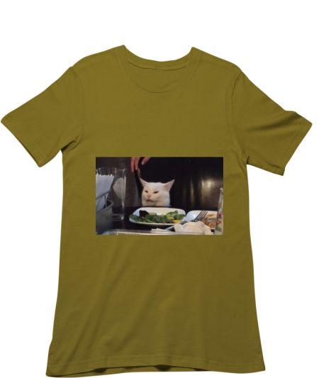 Woman yelling at cat meme right half
