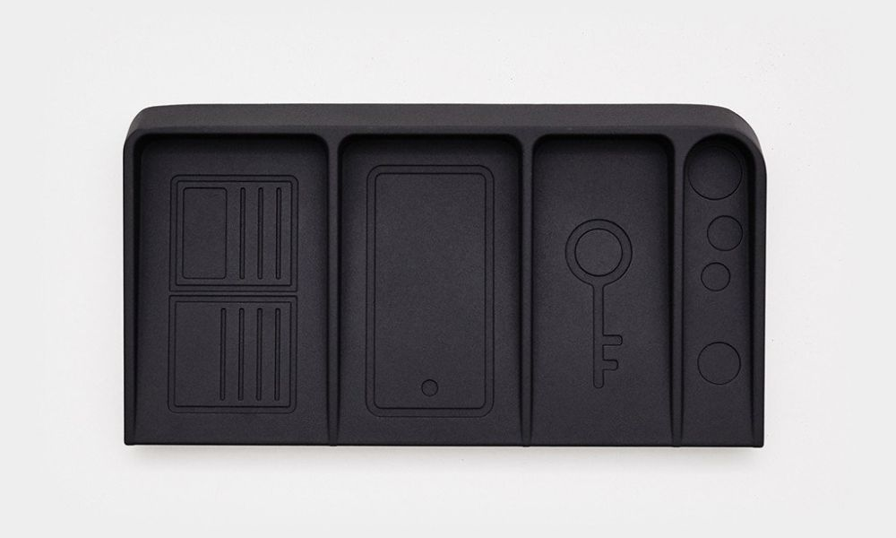 valet black metal valet tray 1 1024x1024 - 15 Valet Trays to Organize Your EDC: What's your choice?