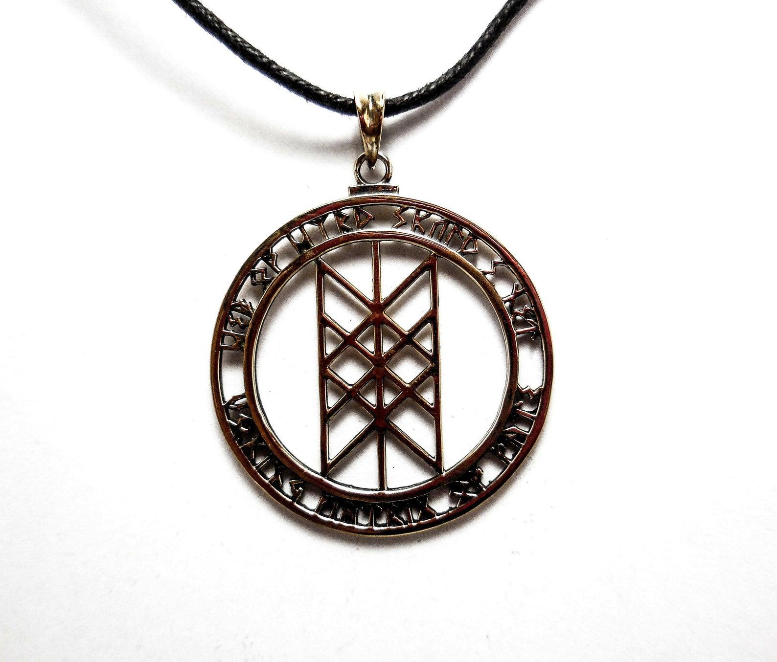 Web of Wyrd Pendant, Amulet