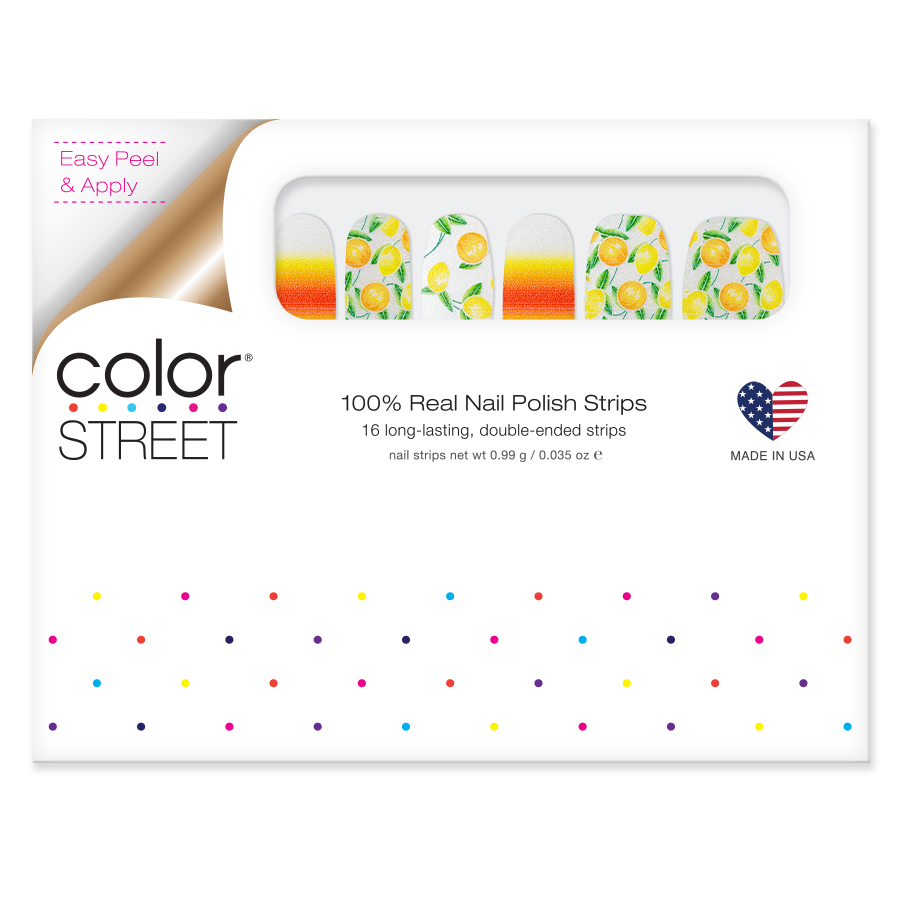 Squeeze The Day Color Street
