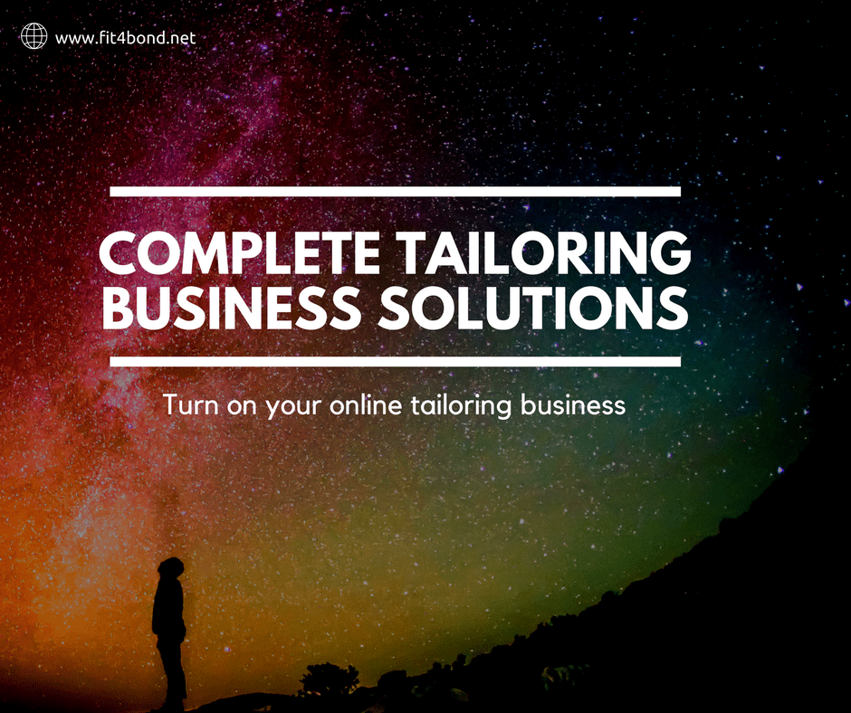 Your complete tailoring business platform success in online !