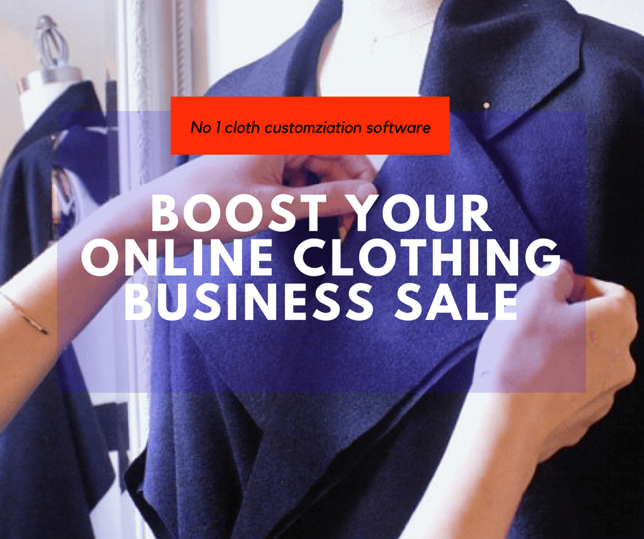 Use clothing customization software to drive sales in tailoring ecommerce store !