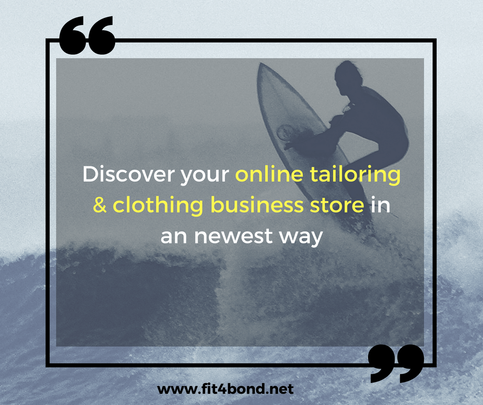 How to transform your custom clothing and tailoring store to online?