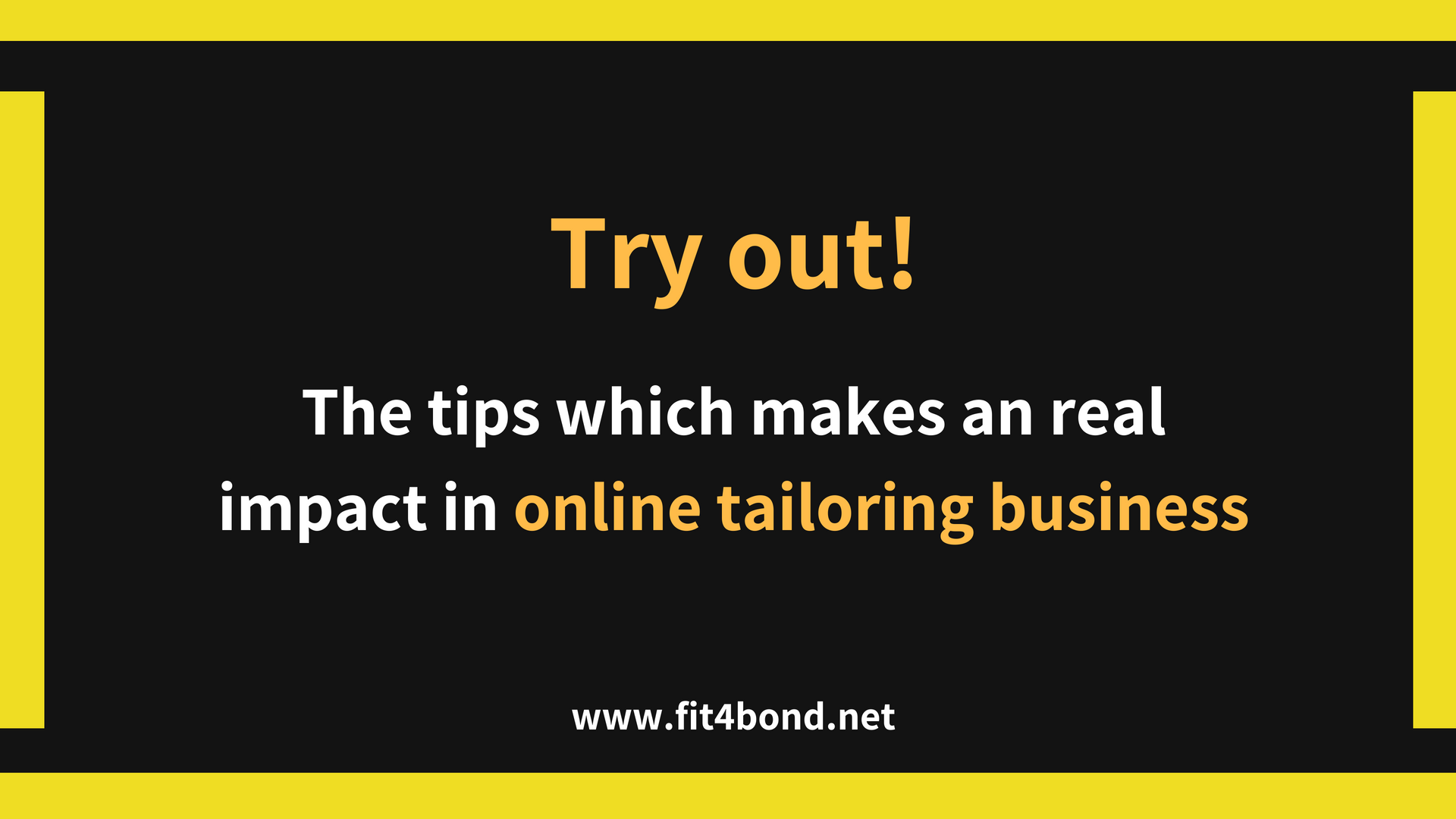 5 simple tips to grow online tailoring business faster