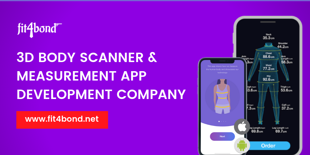 3D Body Scanner & Measurement App Development Company