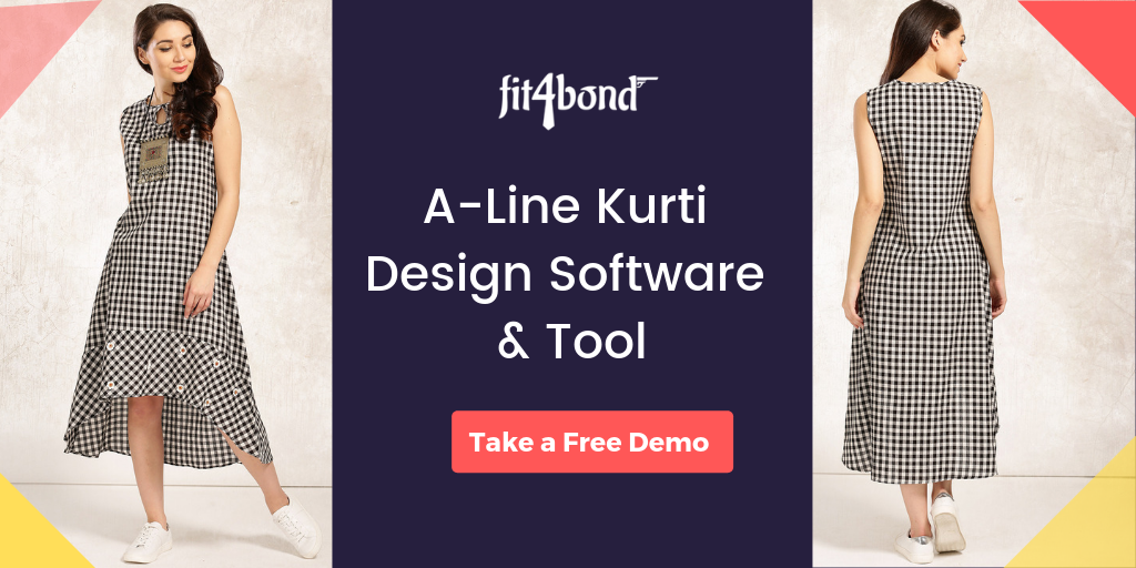 A-Line Kurti Design Software & Customization Tool