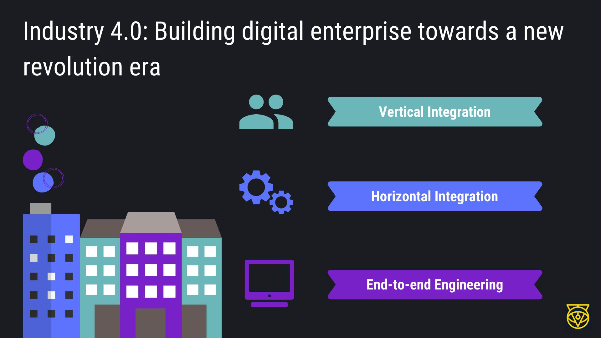 Industry 4.0: Building digital enterprise towards a new revolution era