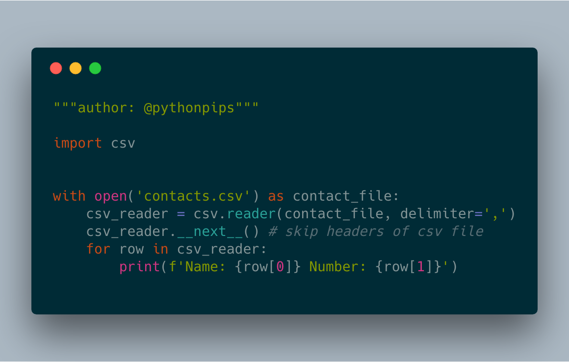How to Read CSV File in Python