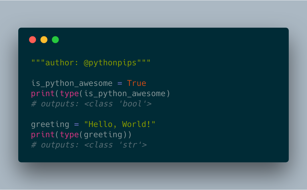 How to Check Data Type in Python