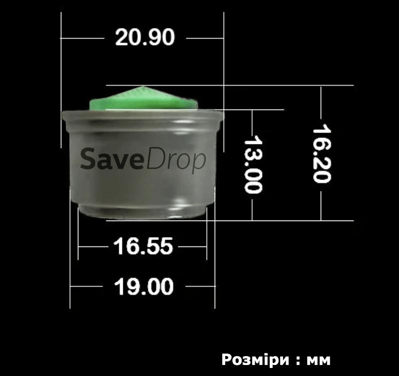 Розміри аератор насадка SaveDrop