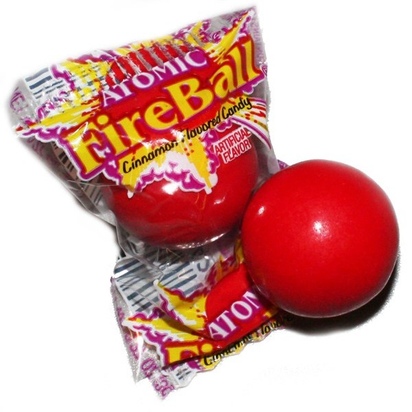 an atomic fireball candy