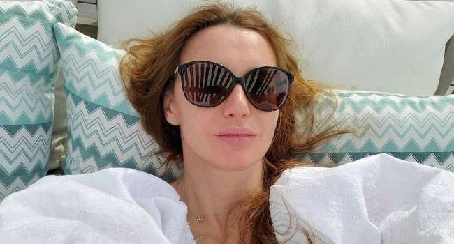 Оксана Марченко выложила в Инстаграм мотивационный пост для своих подписчиков