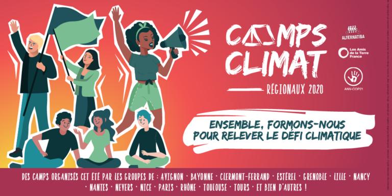 affiche camps climat