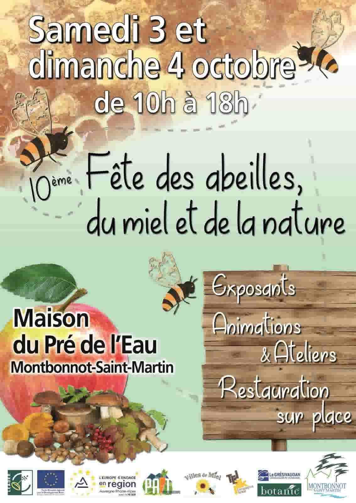 affiche fete des abeilles