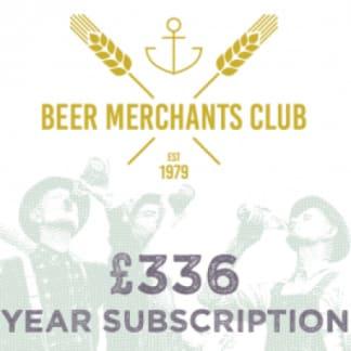 Beer Merchants Beer Club - 1 Year Subscription