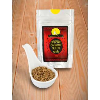 Caraway Seeds Organic, Whole