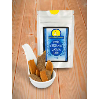 Cassia Bark Organic, Whole