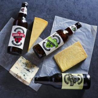 Three Beers Three Cheeses