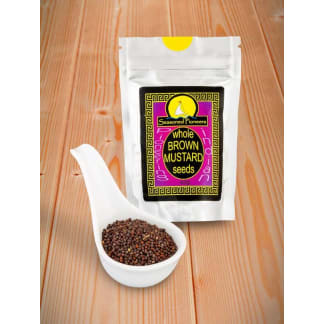 Mustard Seeds Brown Whole
