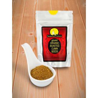 Cumin Seeds Roasted Organic Ground