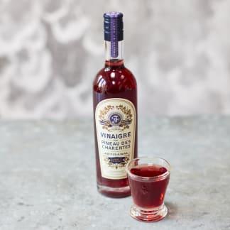 Rosé Pineau de Charentes Vinegar