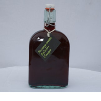 Pomegranate Balsamic Vinegar Bottle
