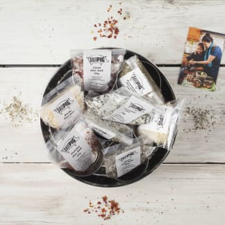Salt Pigs Flavoured Sea Salts Collection with 7 Flavoured Salts & Storage Tin