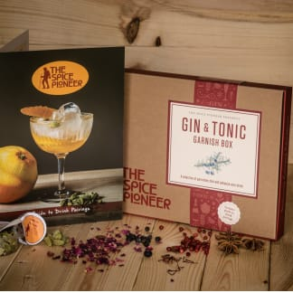 Spice Pioneer Gin & Tonic Garnish Box