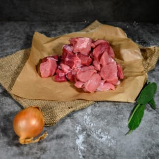 Organic Diced Pork