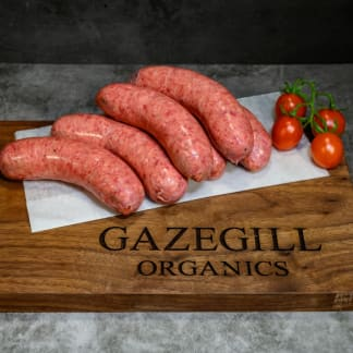 Organic Classic Beef Sausages