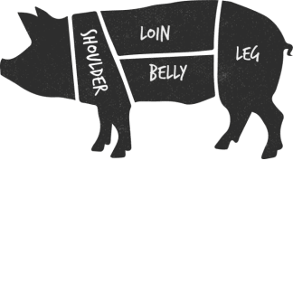 Half Organic Pig - Free Range Outdoor Reared