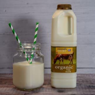 Organic Raw Milk 1 litre
