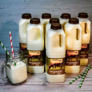 Organic Raw Milk 8 litre - Free Delivery