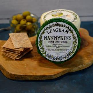 Leagram's Nannykins Soft Goat Curd Cheese