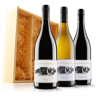 Australian Mixed Wine Trio in Wooden Gift Box