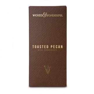 Toasted Pecan Milk Chocolate Bar