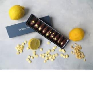 Lemon & Pinenut Chocolate Gift Box (9 Piece)