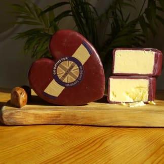 Godminster Organic Cheddar heart