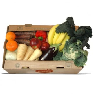 Medium Organic Fruit & Vegetable Box (Plastic Free)