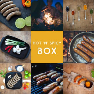 Hot and Spicy Sausage Box