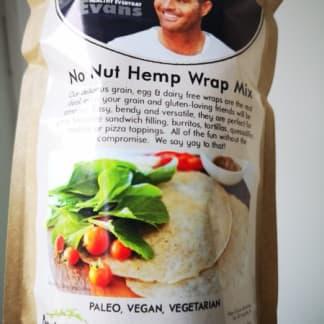 Paleo Wraps Mix: No-Nut Hemp Wraps