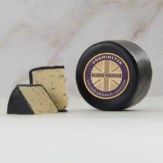Godminster Organic Vintage Cheddar - Black Truffle