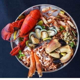Seafood Platter - Plat des Fruits De Mer