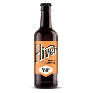 6 x Hiver Amber Beer