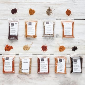 World Spice Blends & BBQ Rubs Collection