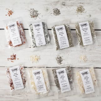 Flavoured Sea Salts Collection with 7 Flavoured Salts