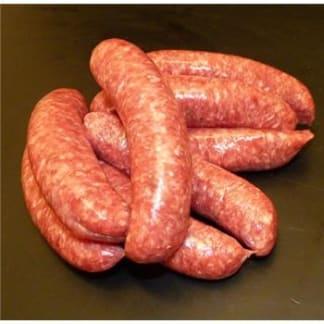 Venison, Damson & Apple sausage
