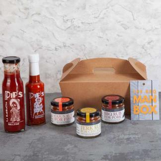Spicy BBQ Man Box