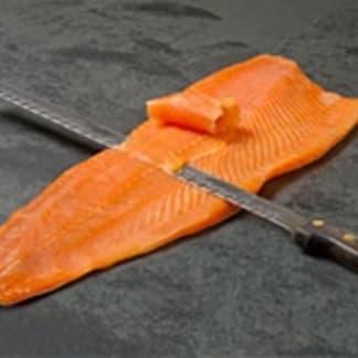 Whole Side Smoked Salmon - Sliced